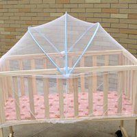 Crib Netting 2021 Universal Baby Kids Cradle Mosquito Net Cot Mesh Canopy Infant Toddler Playpens Bed Tent 90x50cm