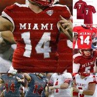 Personalizado Miami (OH) Redhawks College Football Jerseys Ben Roethlisberger Brett Gabbert Jaylon Besster Tire Shelton Jack Sorenson Ivan Pace Jr.