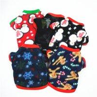 Собака одежда рождественские домашние одежды пальто зима милый леопардовый точка пуловер рубашка костюм маленькая такая тачка щенок кошек для собак