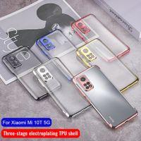 Case For Xiaomi Mi 10T Mi10T Pro TPU Silicon Clear Bumper Soft Case 10Pro 5G Transparent Back Cover Poco M3 Note 9