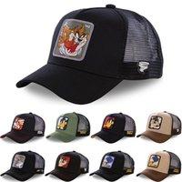 Daffy Coyote Mesh Snapback Taz Yol Bunny Beyzbol Şapkası Ayarlanabilir Kadın Erkek Anime Karikatür Şapka Capslap Dropshipping