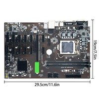 Motherboards B250 BTC CPU Miner Motherboard DDR4 12 PCI-E Graph Card Support LGA 1151 GPU Cryptocurrency Mining