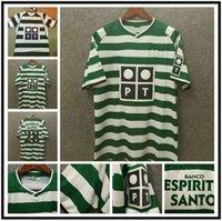 Retro 01 02 03 04 Sporting Lissabon Soccer Jerseys Ronaldo Football Hemden Top Qualität Lissabon Vintage Samt Sponsor Camisa de Futebol Maillot