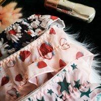 Spcity Daisy Bragas Sujetador Set Muy Sexy Lace Femenino Perrapuelos Fresas Sin Fisuras Tanga Arco Impresión Transparente Ropa Interior Estrella Lencería