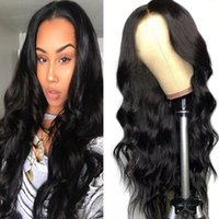 Transparent 4*4 Lace Closure Wig Straight Pre-Plucked Human Hair Wigs Body Wave Straight Kinky Curly Deep Water Wave 4X4 Lace closure Human hair Wigs
