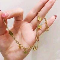 الفولاذ المقاوم للصدأ إلكتروني الذهب الكوبي ربط سلسلة قلادة المختنق سوار للنساء مجوهرات اليد سلسال