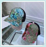 Pareja Marca Bola Cap Classic G Letras Imprimir Diseñador de dibujos animados Diseñador de lona Sombrero Bonnet Mujeres Diseñadores Caps Hats Hip Hop Cap Casquette 51401DQ