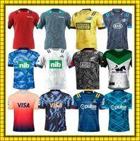 2022 Super 2021 Rugby O Chefe Blues Hurricanes Jersey Camisas Argentina Jaguares Uniforme NZL Crusaders Maori Todas as Jerseys Black