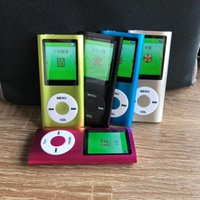 & MP4 Players 1.8 Inch Mp3 Player Music Playing With Fm Radio Video Built-in Memory 5colors