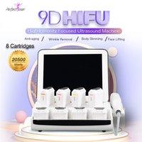Сфокусированная ультразвуковая кожа затягивает 9D HIFU Лифтинговая машина для лица портативное семейное использование обработки Удаление морщин антивозрастное оборудование красоты CE одобрено