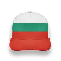 불가리아 청소년 모자 DIY 무료 사용자 정의 만든 이름 번호 사진 BGR COUNTRY HAT NATION FLAG BG 불가리아어 대학 야구 모자