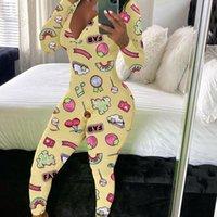 Hirigin Fashion Impreso Impreso Sumpsuits V-cuello de manga llena Mamélicos Club Skinny Club Sexy Deportes Fitness General Partido Partido Ropa de dormir HOMBRE G97B #