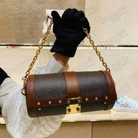 بابيلون جذع حقيبة يد المرأة papillons وزمان حقيبة جلدية حقيبة مصمم فاخر سلسلة المصممين الجلود حقائب الكتف حقيبة crossbody محفظة محفظة M57835