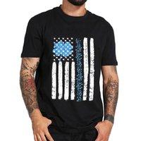 Zsiibo 2020 erkek tasarımcı t shirt ABD bayrağı atletik baskı pamuk t gömlek erkekler ve kadın sokak tarzı hip hop üst tee DYDHGMC194