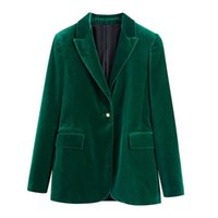 Women's Suits & Blazers Europe And The United States Wind In Autumn Of 2021 Installs Velvet Suit Jacket 4102