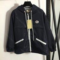 21ss designer coat jacket women cciggu brand Hooded trench coats long sleeve letters logo jackets running bike essential designer clothes womens wholesale cci1