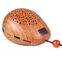 Máquina de buddha de estilo de pez de madera de lujo Mini portátil Portátil MP3 Tarjetas de sonido Players Budista Reproductor de música Corán Player Biblia Player