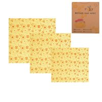 Beeswax Cloth Wraps Covers Reusable Eco- Friendly Wash Wrap S...