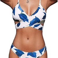 Bikini Bandage Swimsuit Sexy Split Women' s Swimwear 202...
