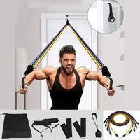 Pcs Elastic Resistance Bands Sets Workout Rubber Elast Band For Fitness Sports Gym Exercise Equipment Training Pull Rope