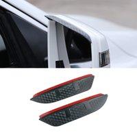For Mercedes-Benz ML W166 GLE W167 2012-2021 2PCS Car Stickers Side Rearview Mirror Rain Eyebrow Visor SunShade Guard Auto Accessories