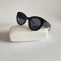 Luxe designer zonnebril voor vrouwen UV400 bescherming eyewear dames stuurprogramma rijden zonnebril met doos