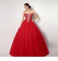 2015 vestidos de quinceanera vermelho com cristal frisado espartilho espartilho imagem real vestidos de festa vestido de baile doce 16 vestido