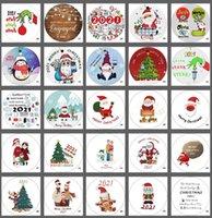 153 Projeto Impressão Cerâmica Pingente Creative Christmas Decoração Ornamentos Dupla Fashions 2021 Árvore Quarentena Sobrevivente Decoração