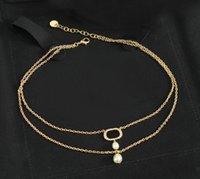Chokers de moda Collar Collares de perlas Bijoux para Lady Mujeres Partido Amantes de la boda Regalo Joyería de compromiso para la novia con box.hb0810
