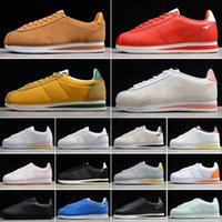 Nike Classic Cortez Leather 2021 zapatos Hombres y mujeres Casual Deportes Zapato Deporte Cuero Original Cortez Super Moire Tamaño 36-44