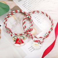 Tibetan Buddhist Lucky Bracelets For Charm Men Women Handmade Knots Red Rope Braided Bangles Woven Thread Jewelry Christmas Gift