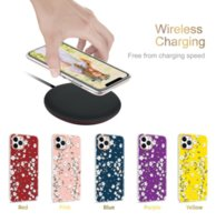 Luxury soft cell phone bag fashion tpu flower cases for iphone 12 11 pro xs max x xr 13 6.1 inch