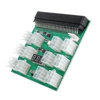 1600W Server-Leistungsumwandlungsmodul mit 12 6-pin-Anschlüssen Grafikkarten-Stromversorgungsbehörde für BTC-Mining-Bitcoin-Mine