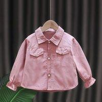 Jackets Fashion Baby Jacket Infantil Girl Coat Spring Casual Loose Windbreaker For Kids 2-5T Grils Coats