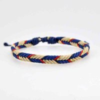 Bangle Bracelet Various Colors Lucky Charm Tibetan Bracelets & Bangles for Women Men Handmade Knots Green Rope Amulet Gift