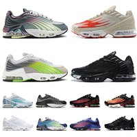Nike Air Max Tn 3 Tuned Airmax Plus 2 RetroTop Hochwertige Laufschuhe Retro Frauen Männer Traniers Strahlung Rot III Triple TNS Helle II. Hasta Tn Sports Take Sneakes EUR 36-46