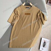 2021 Tasarımcılar Lüks Erkek Bayan Göğüs Etiketi T Shirt Dantel Mektuplar Adam Paris Moda T-shirt En Kaliteli Tees Sokak Kısa Kollu Lüks Tişörtleri Beyaz Siyah 05