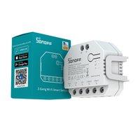 SONOFF DUALR3 المزدوج diy التتابع الذكية التحكم المنزلية وحدة wifi مصغرة اتجاهين الطاقة التبديل التبديل العمل مع eWelink التطبيق