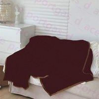 Lettres Vintage Jetez des couvertures SER Hiver Automne Flannel Barefoot Blanket 150 * 200cm Multifonction Multifunction Voyage Chair de voiture Jantes pour adultes KI
