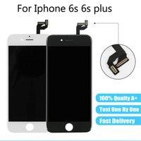ЖК-дисплей для iPhone 6S 6S PLUS 100% тестируемый топ-качественный сенсорный экран Digitizer Сборка замены без мертвого пикселя