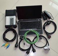 NOUVEAU 2021.03 MB C5 SD Connect Compact 5 Mo Diagnostic Diagnostic Ordinateur portable E6320 I5 4 Go pour Benz Cars Trucks Diagnostic