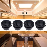 4Pcs RV Air Conditioning Deflector Outlet Louvered Vent Exhaust Grille For Car Boats Yacht ATV Parts