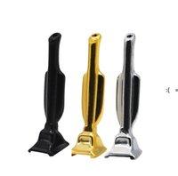 Мини трофейные трубы курительные металлы металлические Snorter вакуумный сниффер дозатор носовой трубки соломенные табачные травы ручные трубы GWA9308