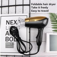 SH-8155 Portable Hair Dryer, Household Negative Ion Care Styling Tool Electric Brushes
