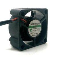 GM2404PKVX-A per il ventilatore di sunon 24V 1.7W 4cm 4020 4 * 4 * 2cm 40 * 40 * 20mm CPU Refrigeratore di calore Assiale Ventilatori di raffreddamento Assiale Raffreddamenti