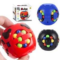 DHL Magic Puzzle Ball Fidget Cube Bundle Toys Toys Toys Frijoles Anti Ansiedad Alivio EDC descompresión para adultos niños