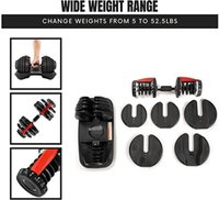 Gym Equipmen 40kgs Adjustable Dumbbell 24kg 35lbs Weights Dumbell Set Indoor Sports Fitness Dumbbells