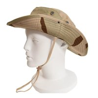 Outdoor Hats Camouflage Tactical Boonie Hat Military Army Multicam Camo Cap Paintball Sniper Bucket Caps Fishing Hunting