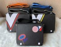Calidad de Alta Gama Nueva Llegada Marca FAMOSA MOTA Messenger Bolsas Cross Body Bag School Bookbag Azul Naranja Hombro