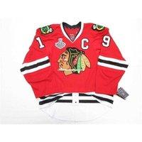 Custom Toows Chicago Goedkope Blackhawks Home 2013 Stanley Cup Final Jersey Stitch Voeg een willekeurig nummer toe Alle name Mens Hockey Jersey XS-6XL
